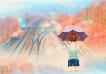 适合下雨天发说说的句子随笔_适合下雨天看得忧伤的句子