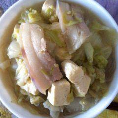 大白菜炖豆腐各种家常制作技巧