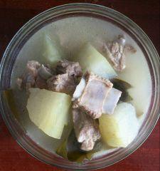 冬瓜海带排骨汤的3种营养做法